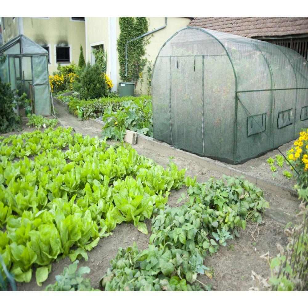 Serre de jardin - Bâche pour serre jardin tunnel 6 m² - Habrita - Serre de jardin GammVert