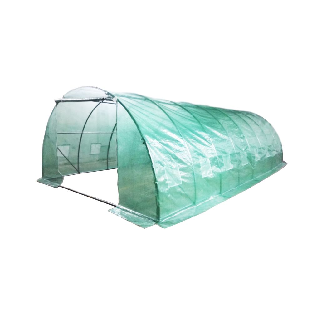 Bâche pour serre jardin tunnel 32 m² - Habrita
