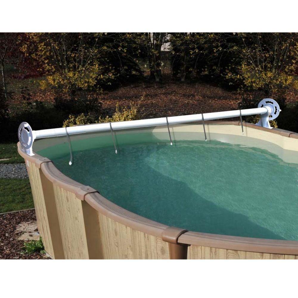 enrouleur luxe de b che t pour piscine hors sol gamm vert. Black Bedroom Furniture Sets. Home Design Ideas