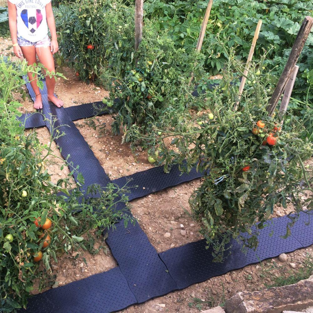 Dalle De Jardin Pas Cher set de 16 dalles de potager 3.20 m² bellijardin