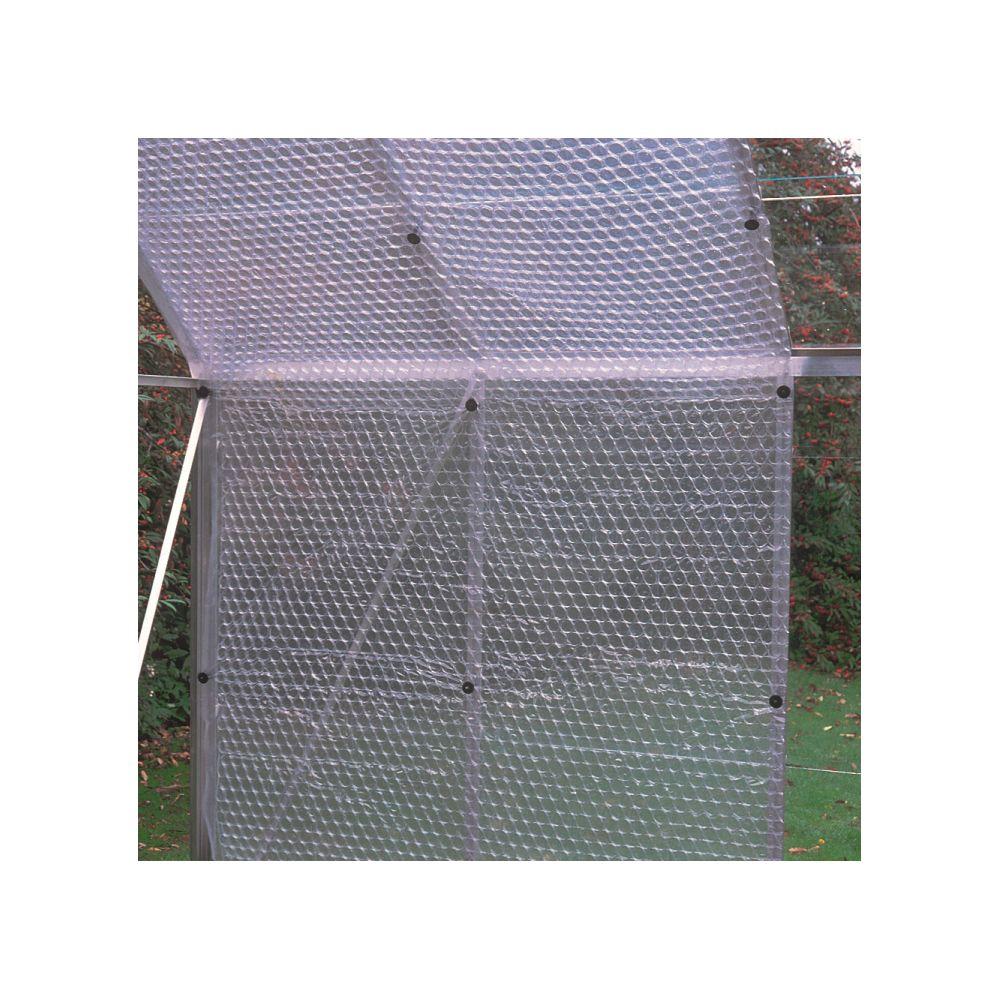 Plastique isolant à bulles pour serres 10 x 1.5 m - Juliana