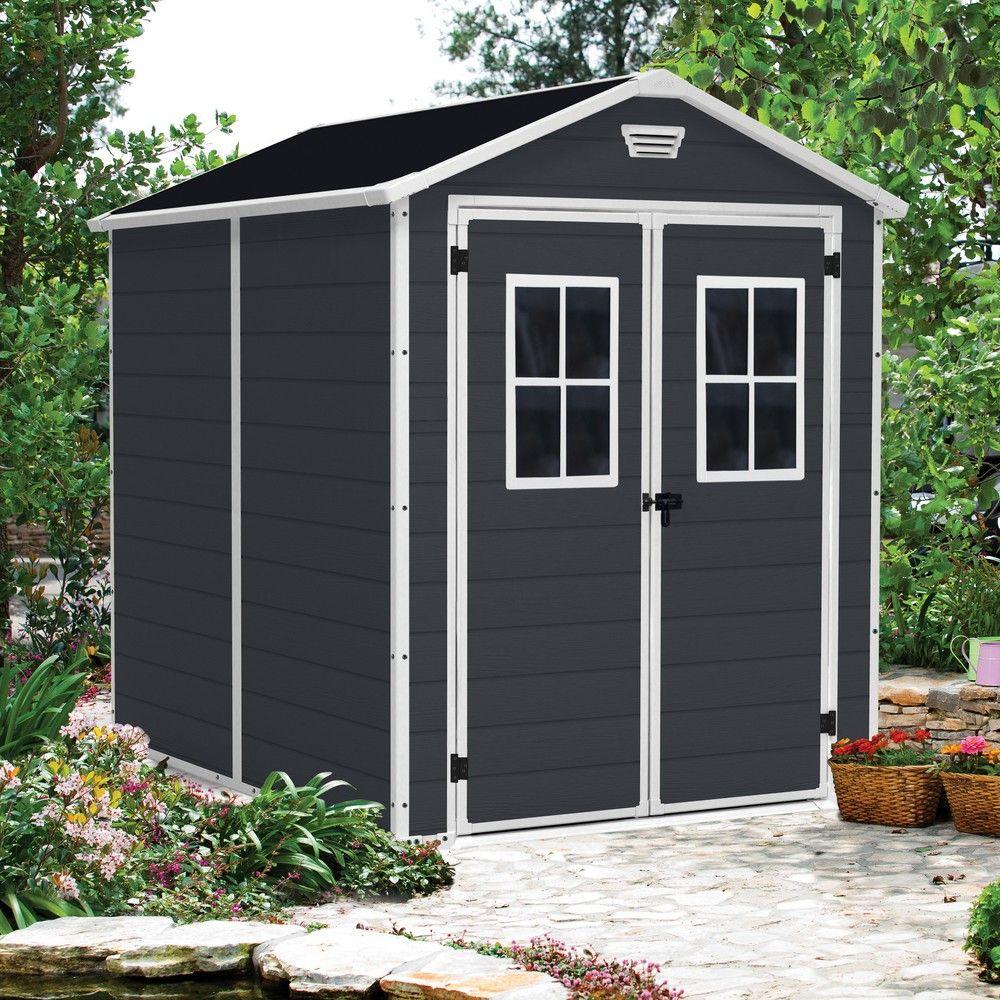 petit abri de jardin r sine keter 4 40 m mm premium 86 1 colis l 235 x p 111 x h 24 cm