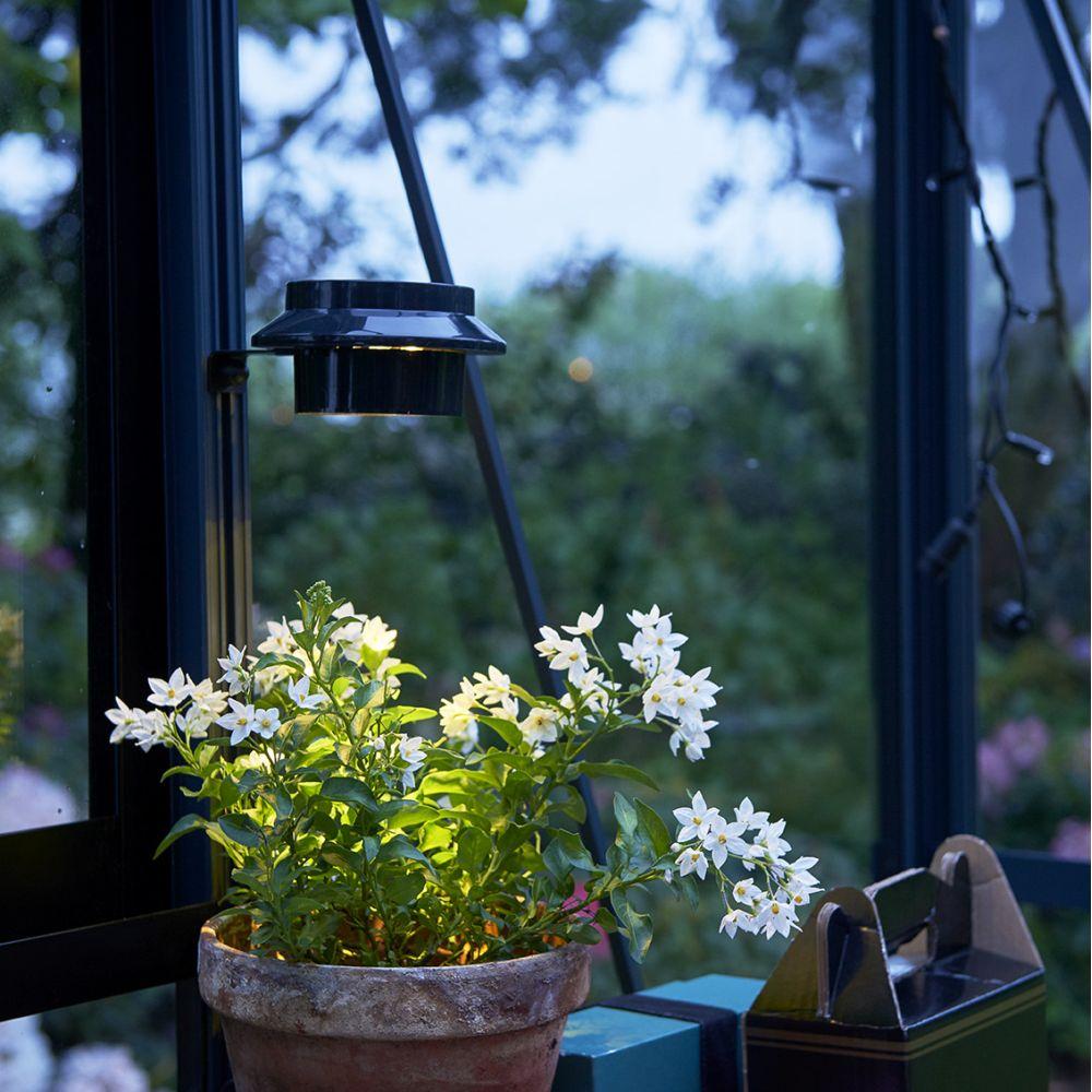 Lampe LED solaire pour serres - Juliana
