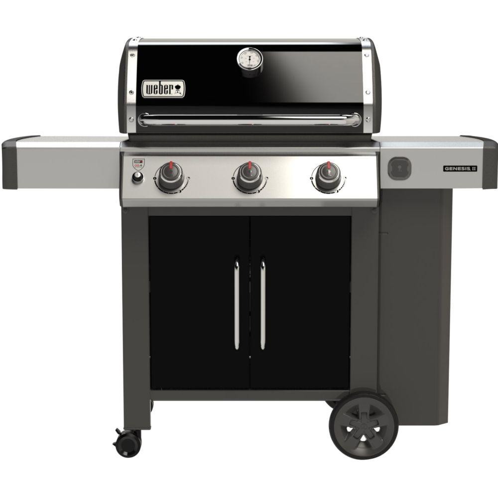 barbecue gaz weber genesis ii e 315 noir 1 carton h60 96. Black Bedroom Furniture Sets. Home Design Ideas