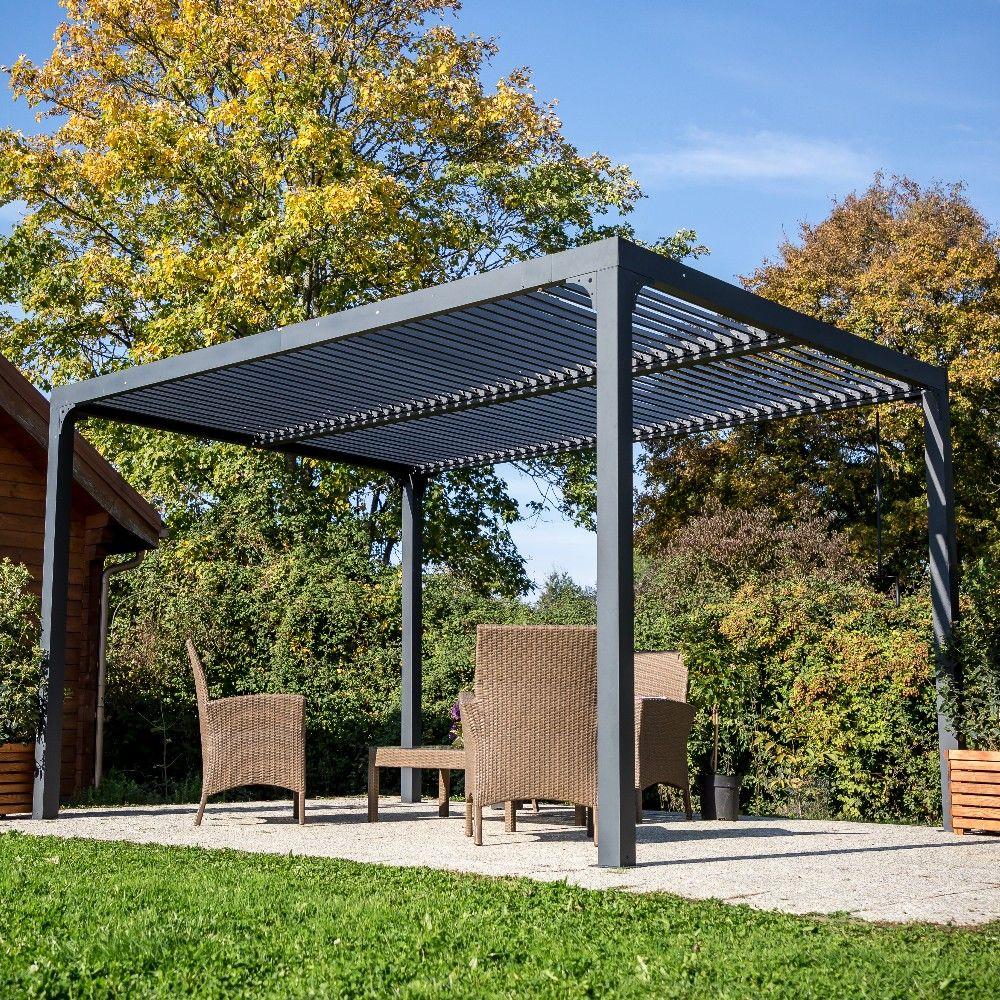 Pergola autoportante bioclimatique 10.80 m2