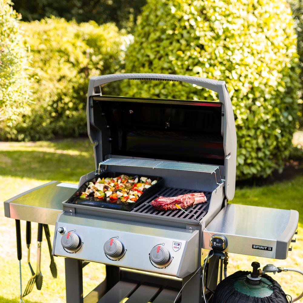 Barbecue Gaz Sans Plancha barbecue gaz weber spirit ii e-310 noir