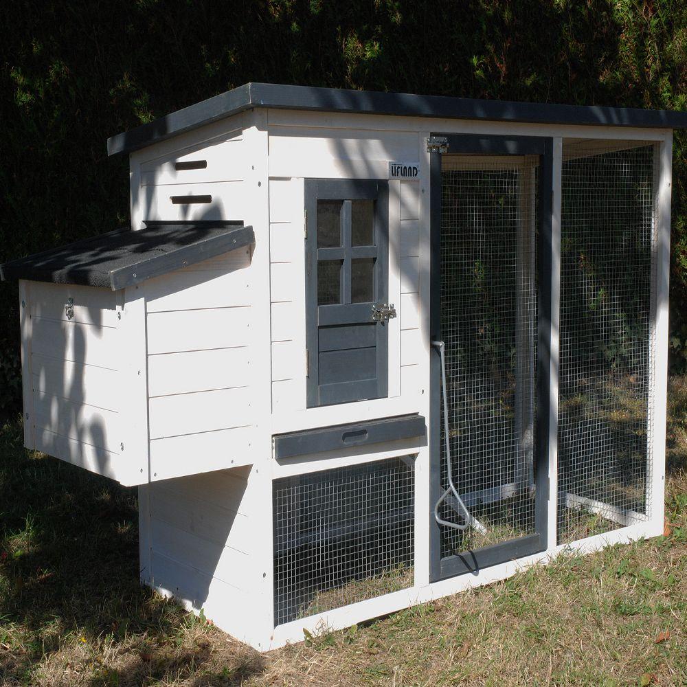 poulailler cottage 2 3 poules l188 x l67 x h92 cm gamm. Black Bedroom Furniture Sets. Home Design Ideas