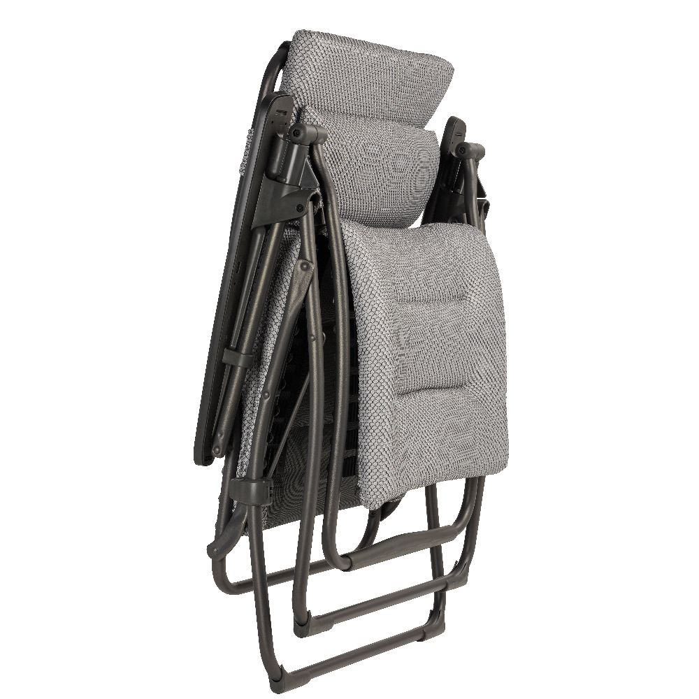 fauteuil relax lafuma futura be comfort silver hauteur 18. Black Bedroom Furniture Sets. Home Design Ideas