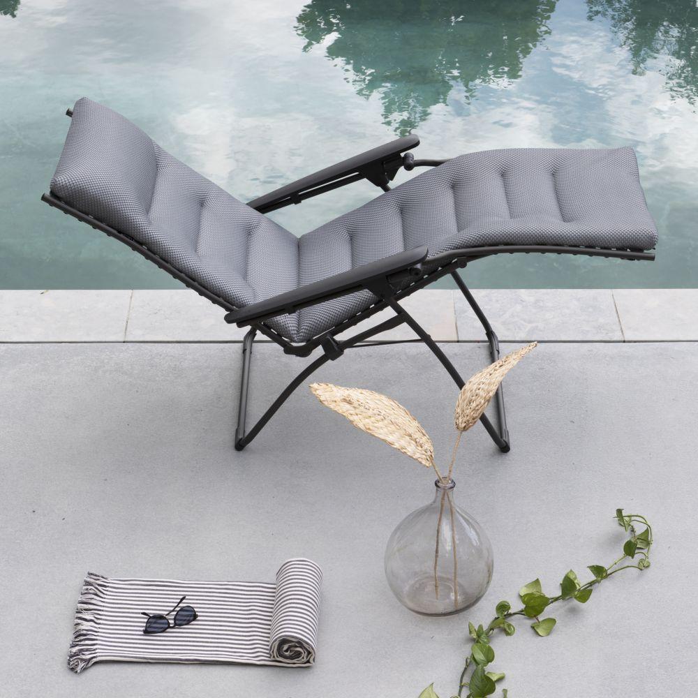 Lafuma Evolution Comfort Fauteuil Relax Be Silver hCrsxtQdB