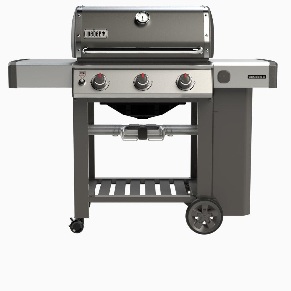 barbecue gaz weber genesis ii e 310 gris 1 carton x. Black Bedroom Furniture Sets. Home Design Ideas