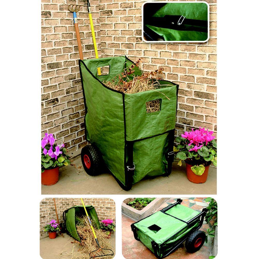 Poubelles Noires De Jardin poubelle de jardin sur roues