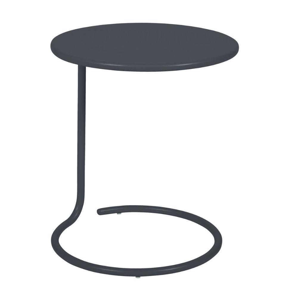 Table De Jardin Basse Fermob Coolside Carbone Gamm Vert