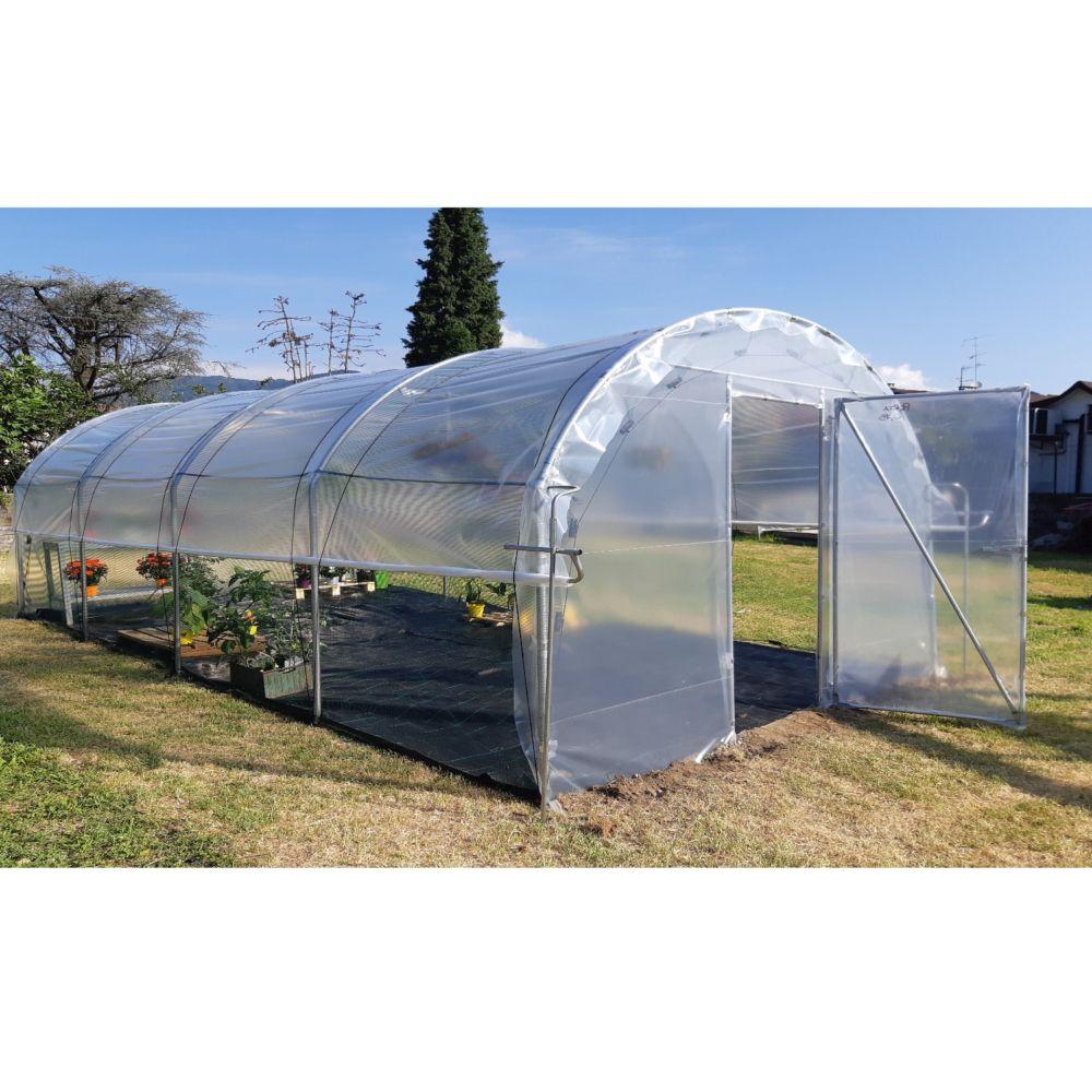 Serre de jardin - Serre tunnel maraîchère Orchidéa 18 m² - Serre de jardin GammVert