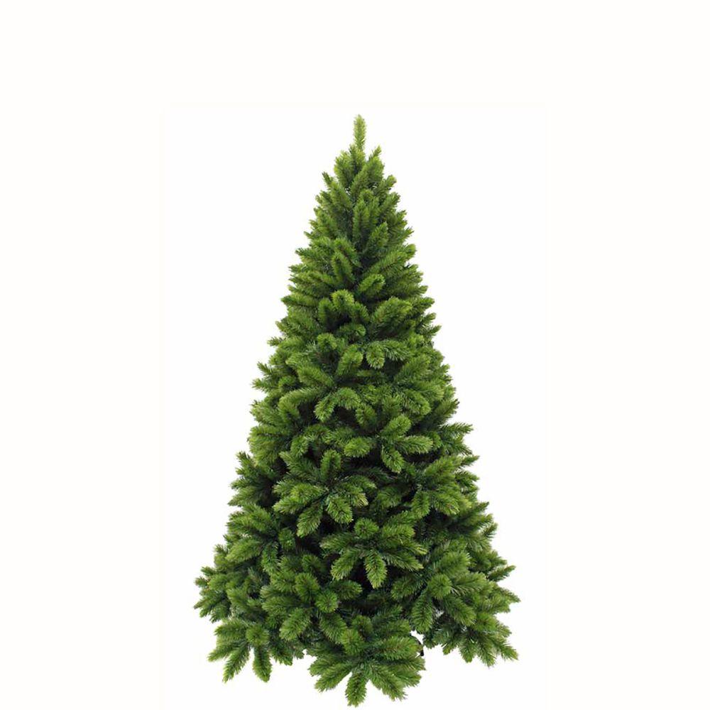 Sapin de Noël artificiel vert TSUGA   H185XD109CM Hauteur monté