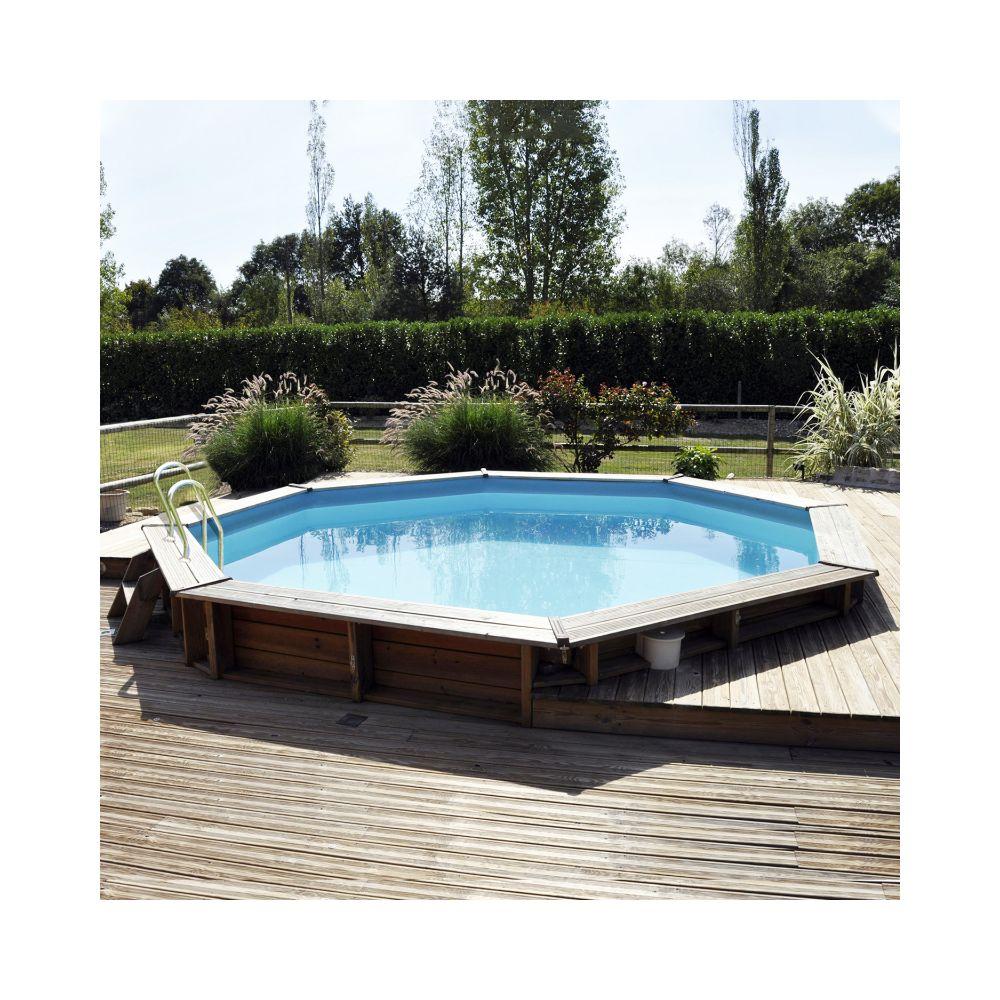 Piscine En Bois Alsace piscine en bois traité vasto d 4.30 m - sunbay