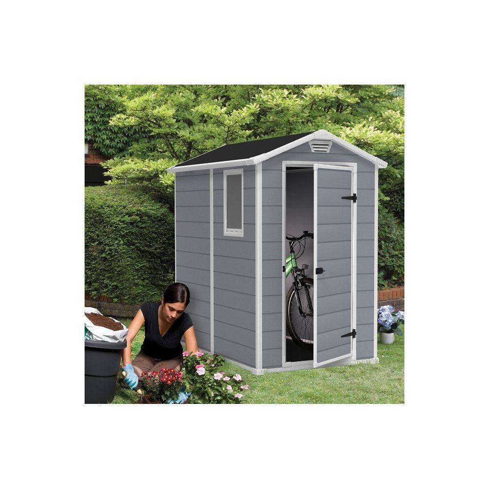 Abri de jardin résine Keter Premium 46S 2,5 M² EP. 16 MM