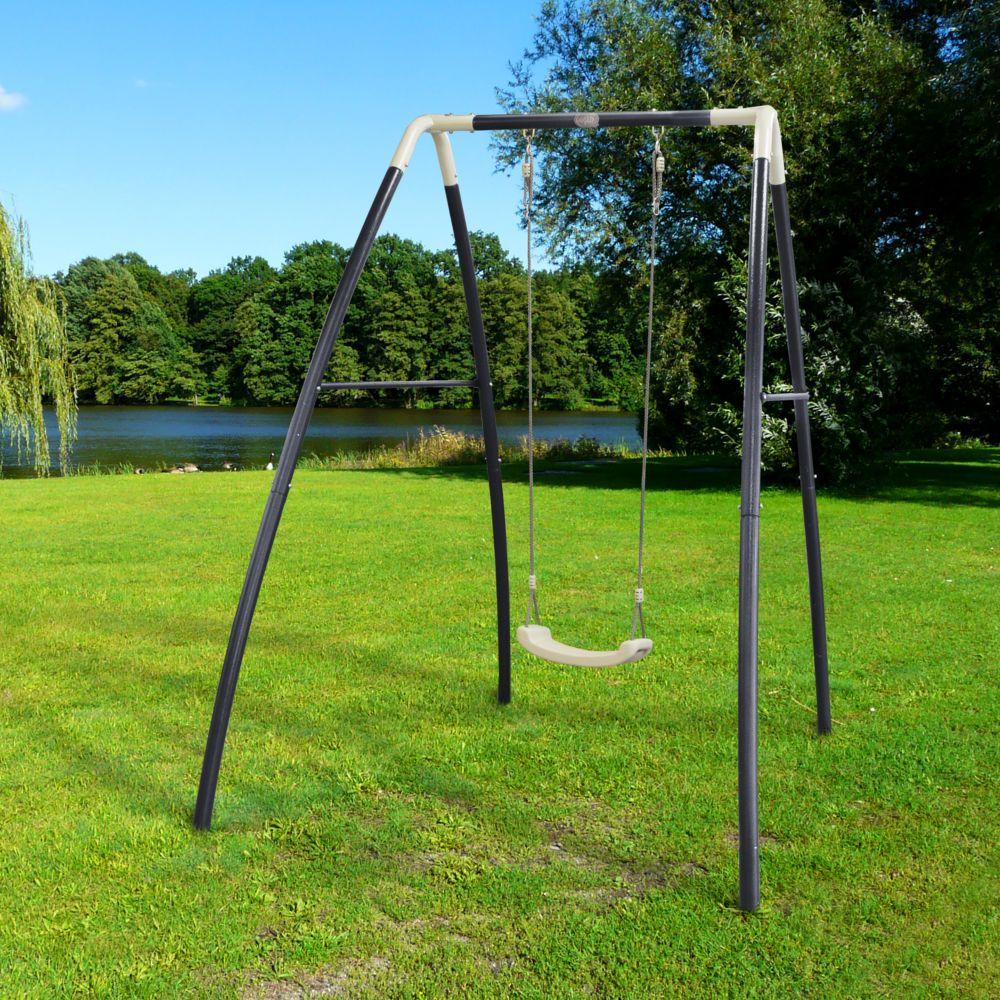 Portique en métal 1 agrès Single Swing