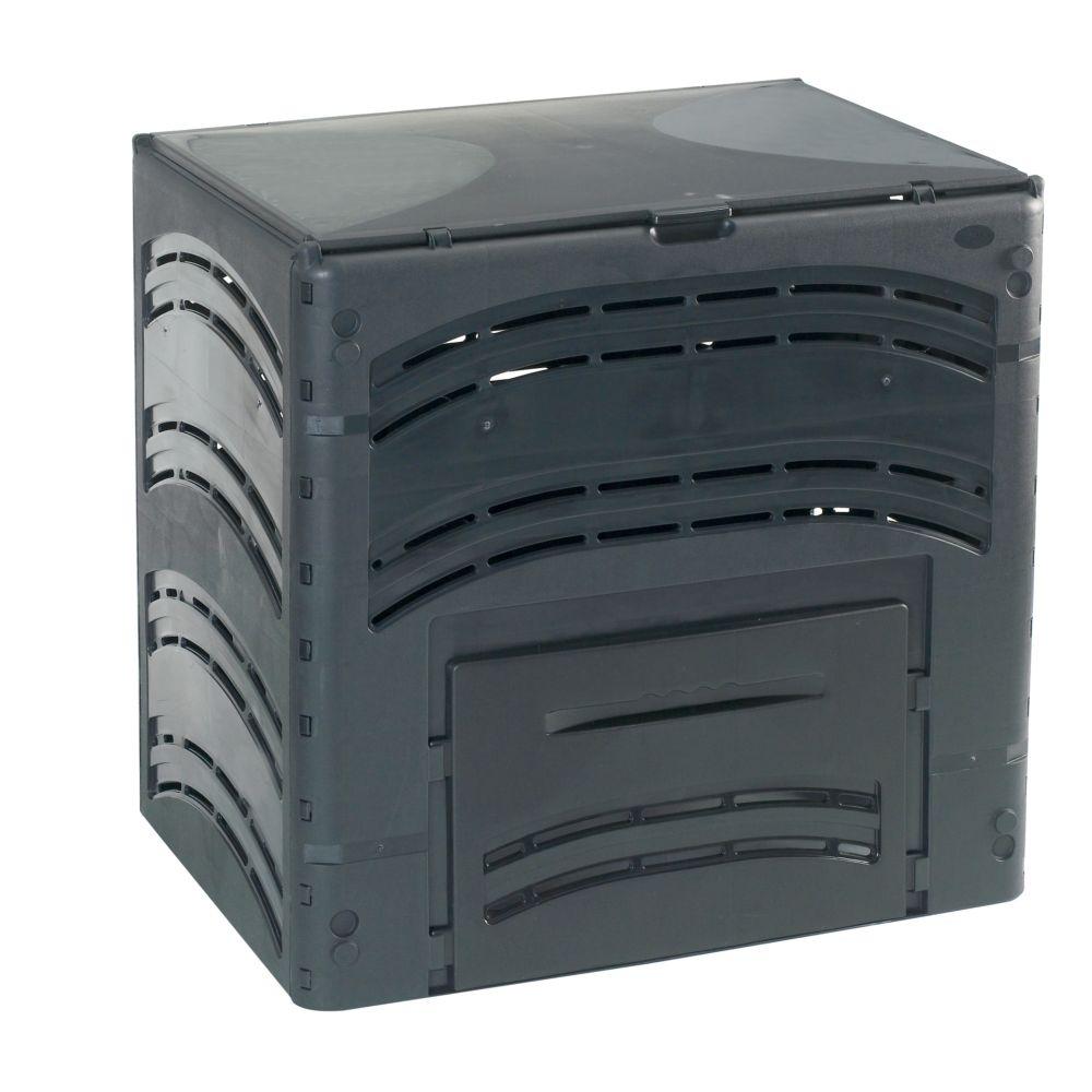 Composteur Compost' Eco 350 L noir - Bellijardin