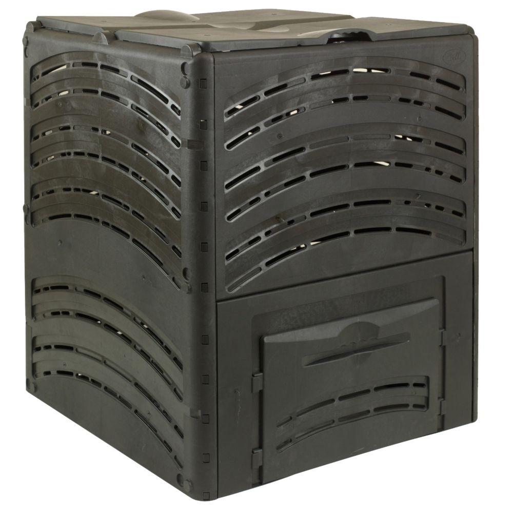 Composteur Compost' Eco 650 L noir - Bellijardin