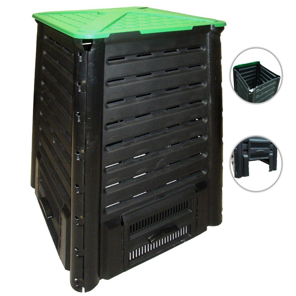 Composteur Compo'Fast 600 L noir - Bellijardin