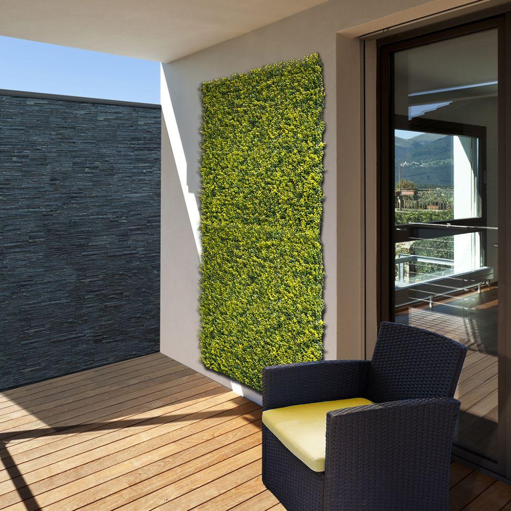 Panneau décoratif NORTENE végétal synthétique vertical Buxus