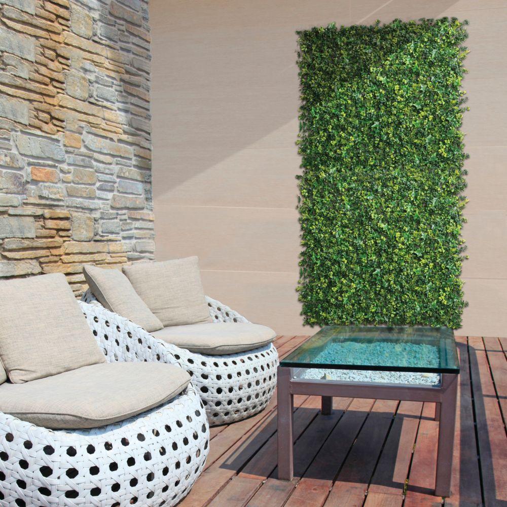 Panneau décoratif NORTENE végétal synthétique vertical Forest