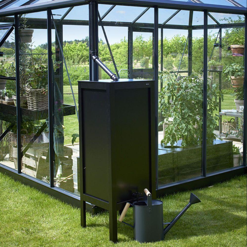 Serre de jardin - Récupérateur d'eau pour serre de jardin - Juliana - Serre de jardin GammVert
