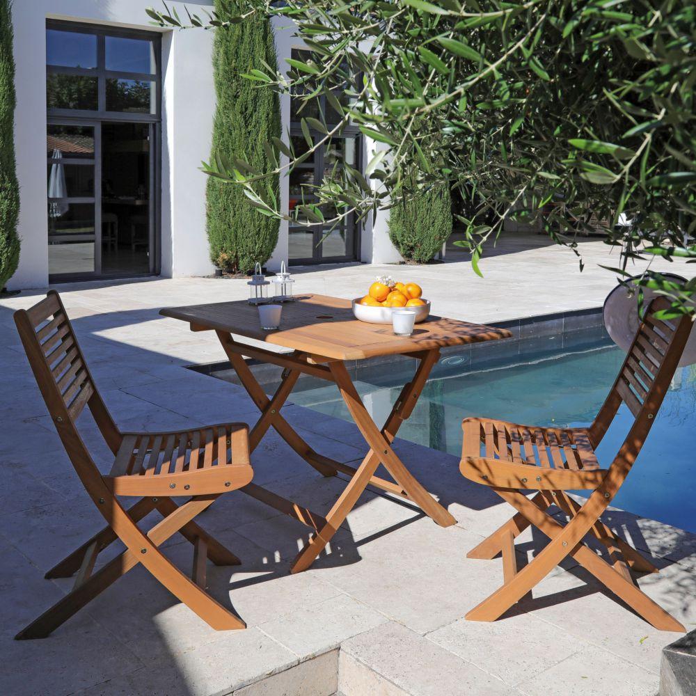 Nettoyer Salon De Jardin En Bois salon de jardin en bois sophie : 4 pers.