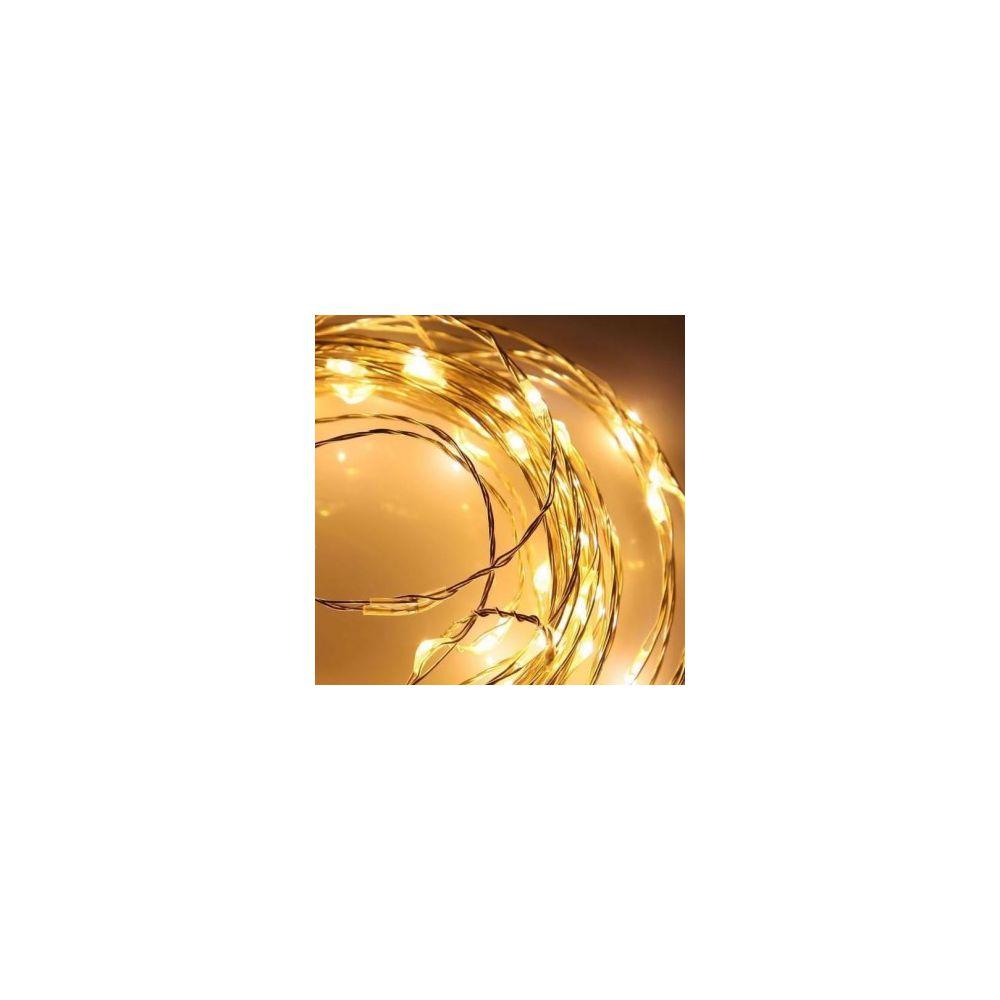 Guirlande lumineuse longueur 2 m - Vendu uniquement avec un Petit sapin de Noël