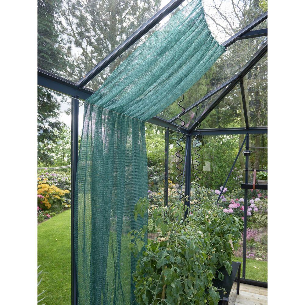 Serre de jardin - Voile d'ombrage pour serres 183 x 259 cm vert - Juliana - Serre de jardin GammVert