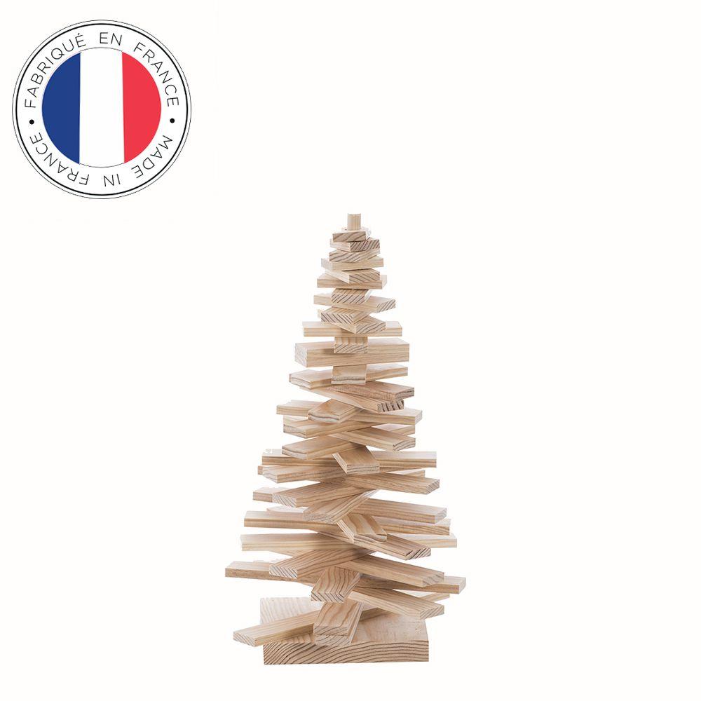 Sapin de Noël en bois 40 cm