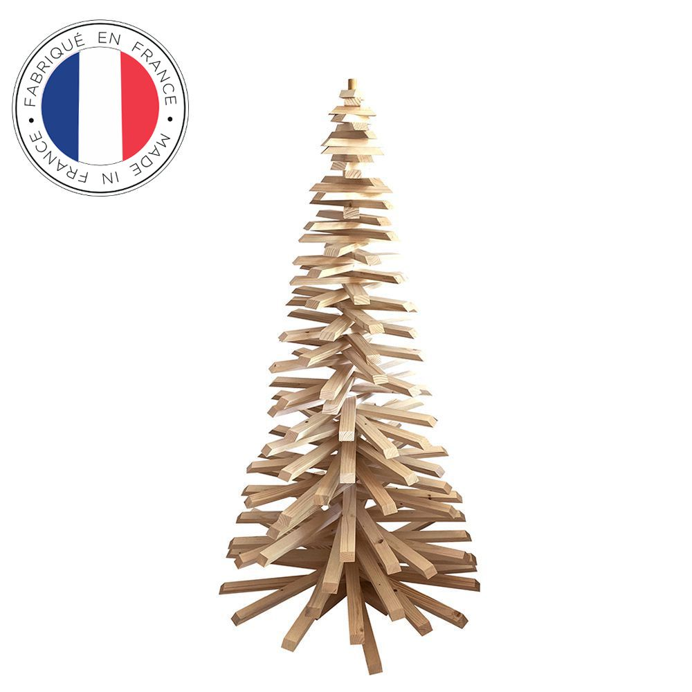 Sapin de Noël en bois 160 cm