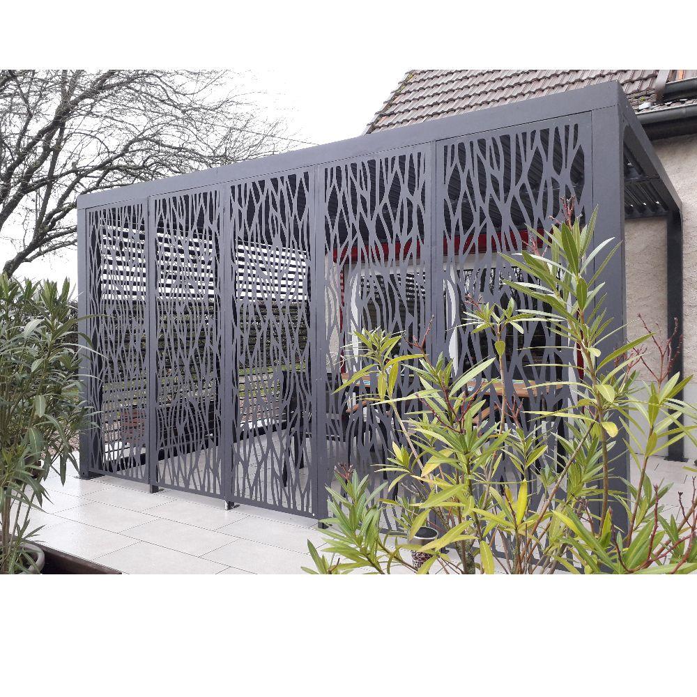 Pergola bioclimatique ALUMINIUM 10,80 m2 - Habrita
