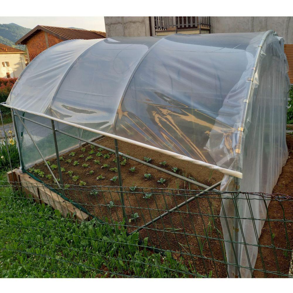 Serre de jardin - Serre tunnel maraîchère renforcée Dahlia 9 m² - Serre de jardin GammVert