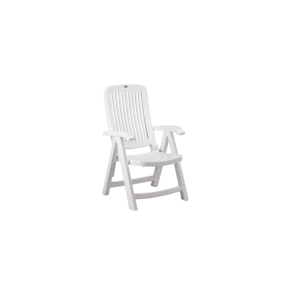 Fauteuil \'Melody\' Multiposition blanc carton - Gamm Vert